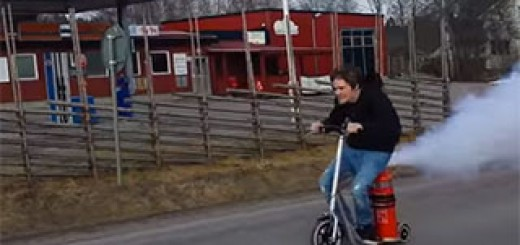 CO2-Powered-Scooter