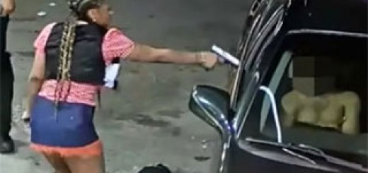 Woman-Opens-Fire-at-Gas-Station