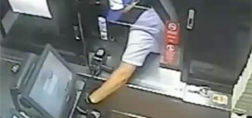 Thief-tries-to-pull-cash-register-drawer-through-small-window