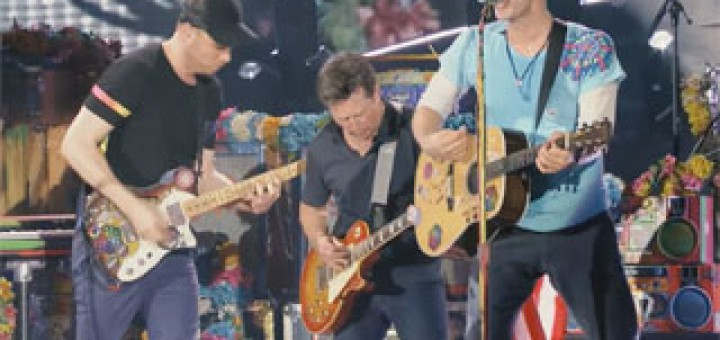 Rocktalgie-151-Johnny-B-Goode-jouee-par-Michael-J Fox-et-Coldplay-en-live