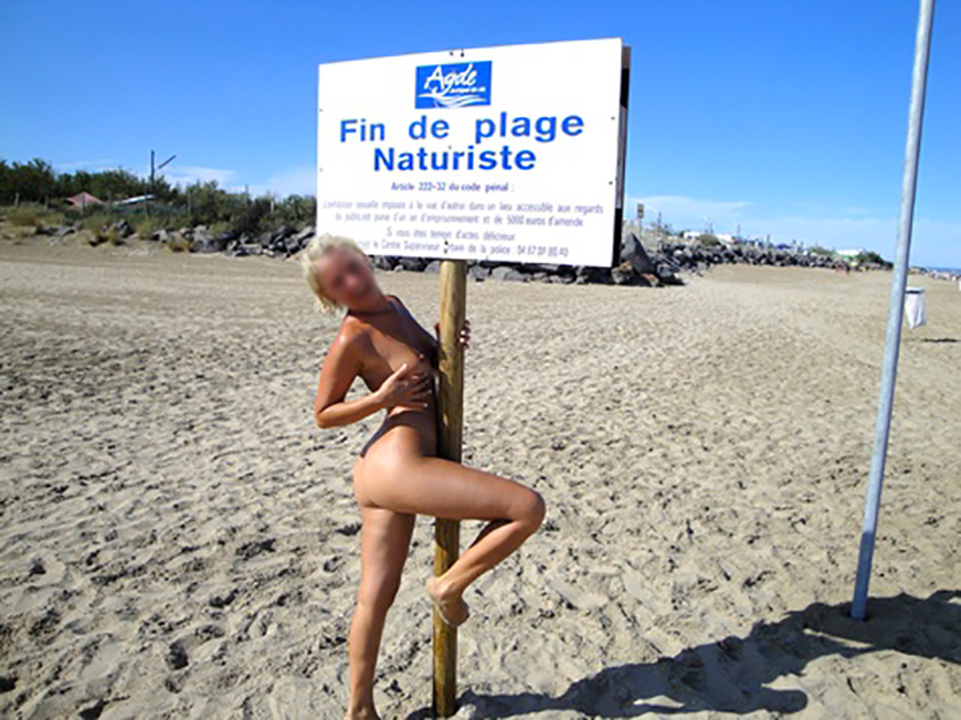 photos de la plage des cochons au cap d agde video erotique x