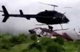 Accident helicoptere