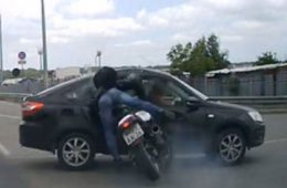 Accident voiture moto