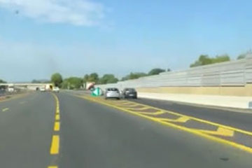 Crash audi autoroute