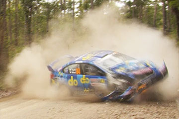 Crash rallye Molly Taylor