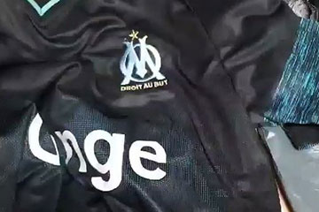Maillot marseille chaussette