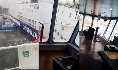 Ferries collisions