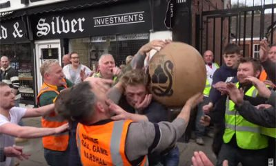 Atherstone Ball Game sport Angleterre