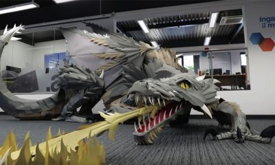 dragon Game of Thrones papier