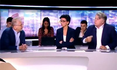 Gilbert Collard Daniel Cohn-Bendit insultent direct TF1