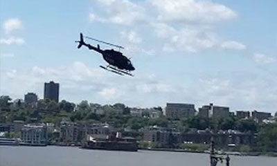 Crash helicoptere new york hudson