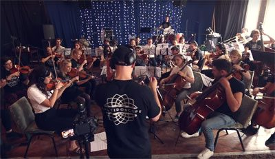 Hommage Keith Flint Medley orchestral The Prodigy