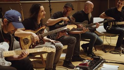 Tom Morello Scott Ian Nuno Bettencourt joue version metallique Game Of Thrones