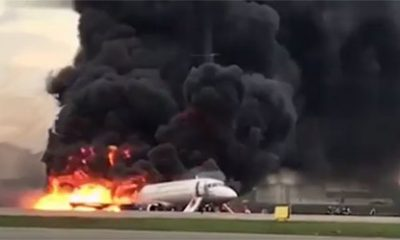 crash Soukhoi Superjet-100