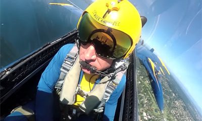 Immersion frayeur bord avion Blue Angels