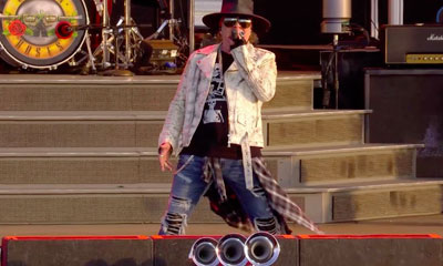Guns n roses concert complet Download Festival 2018