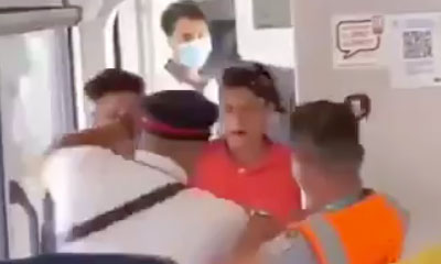 Un controleur SNCF agresser par un couple